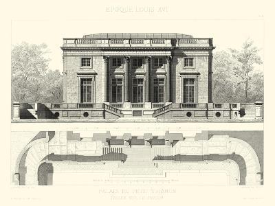 Palais Du Petit Trianon-E^ Obermayer-Art Print