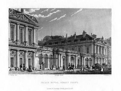 Palais Royal, Paris, France, 1829-J Hanshall-Giclee Print