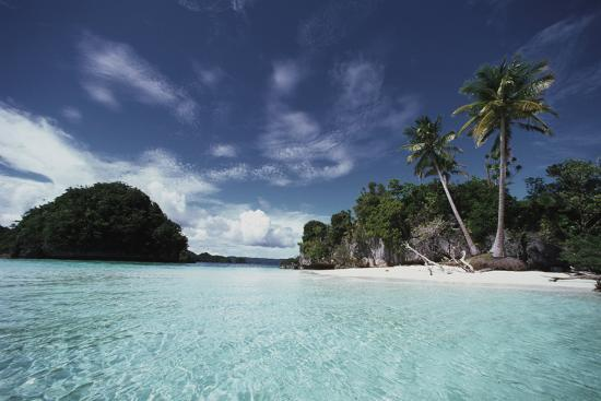 Palau, Honeymoon Island, Rock Islands-Stuart Westmorland-Photographic Print