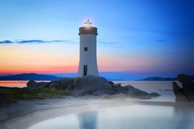 Palau Lighthouse-Marco Carmassi-Photographic Print