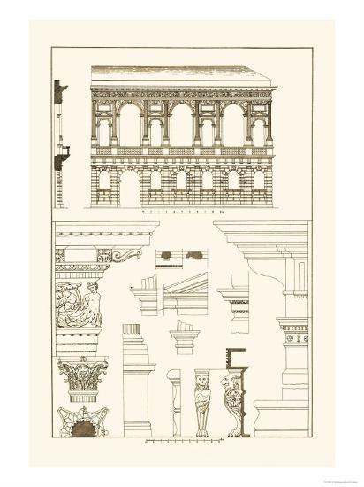 Palazzo Bevilacqua at Verona-J^ Buhlmann-Art Print