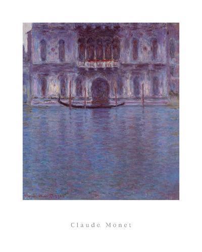 Palazzo Contarini-Claude Monet-Art Print