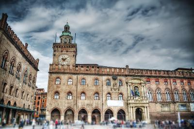 Palazzo D'accursio in Piazza Maggiore, Bologna-Gabriele Maltinti-Photographic Print