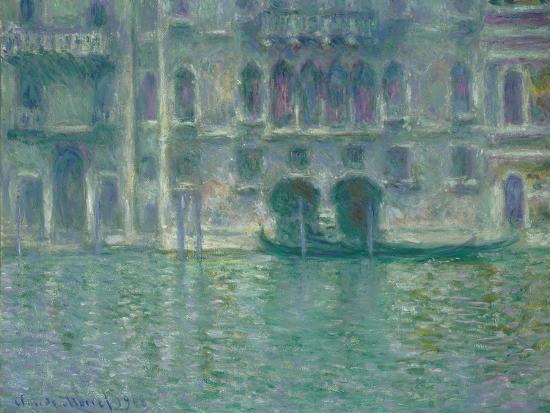 Palazzo Da Mula, Venice, 1908-Claude Monet-Giclee Print