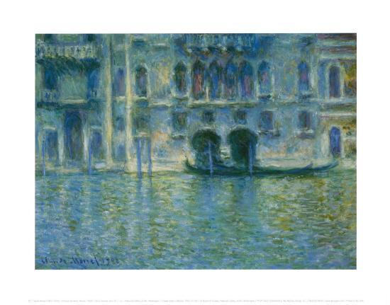 Palazzo Da Mula, Venice-Claude Monet-Art Print