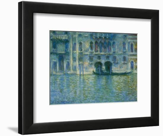 Palazzo Da Mula Venice Framed Art Print By Claude Monet