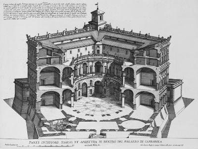 Palazzo Di Caprarola: the Garden of Rome-Giovanni Battista Falda-Giclee Print