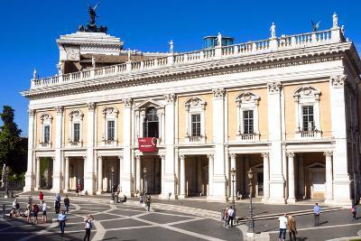 Palazzo Nuovo, Campidoglio, Capitoline Hill, UNESCO World Heritage Site, Rome, Lazio, Italy, Europe-Nico Tondini-Photographic Print