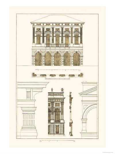Palazzo Verzi at Verona, Palazzo Madama-J^ Buhlmann-Art Print