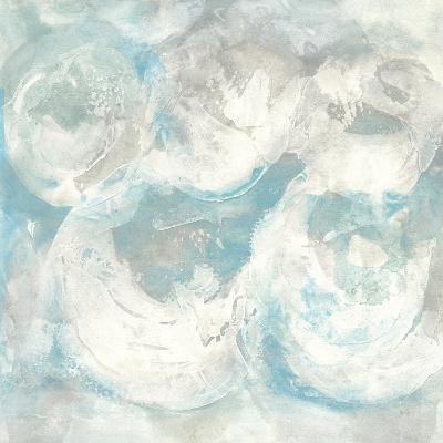Pale Blue Circles IV-Chris Paschke-Art Print