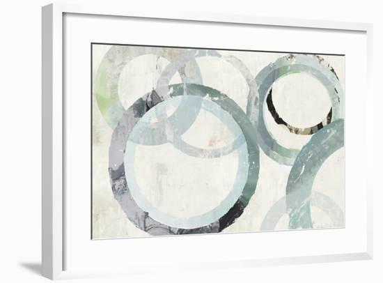 Pale Blues I-Tom Reeves-Framed Art Print