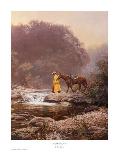 Pale Morning Mist-Bob Wygant-Art Print