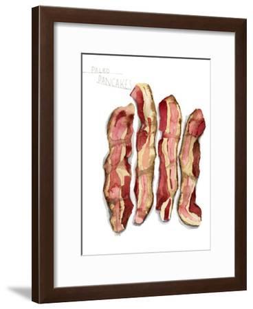 Paleo Pancakes-Stacy Milrany-Framed Art Print