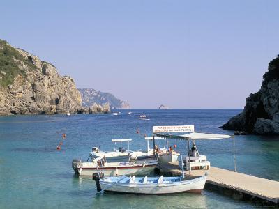 Paleokastritsa, Corfu, Greek Islands, Greece, Mediterranean-Hans Peter Merten-Photographic Print