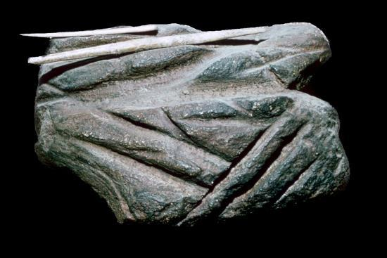 Paleolithic Polishing-Stone. Artist: Unknown-Unknown-Giclee Print
