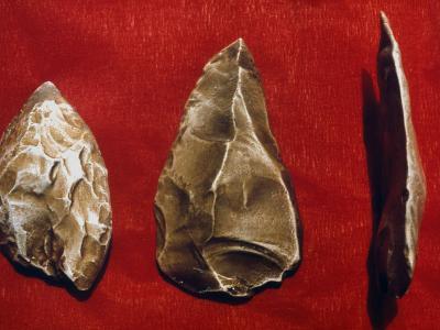 Paleolithic Tools--Photographic Print