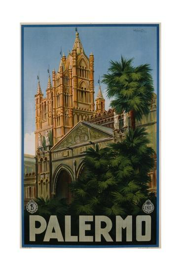 Palermo Poster-A. Ravaglia-Giclee Print