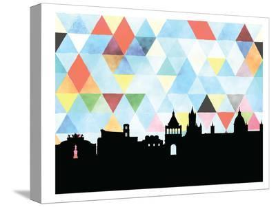 Palermo Triangle-Paperfinch 0-Stretched Canvas Print