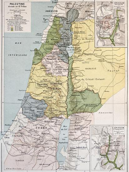 Palestine Tribes Old Map With Jerusalem Insert Maps Art Print by marzolino on connect map, line map, find map, read map, map with inset map, search map, create map, move map, change map, legend on a map, view map, make your own wedding map, data map, inner map, esc map, open map, locate map, add map, locator map,