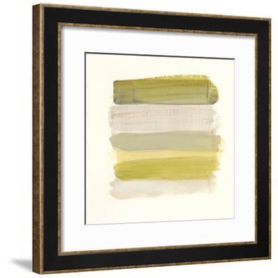 Palette Stack IV-June Vess-Framed Art Print