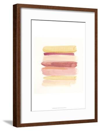 Palette Stack V-June Erica Vess-Framed Art Print