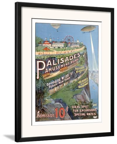 Palisades Amusement Park--Framed Giclee Print