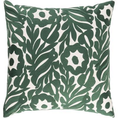Pallavi Poly Fill Pillow - Emerald