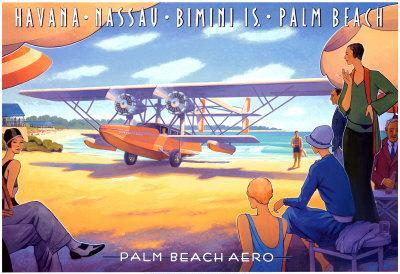 Palm Beach Aero-Kerne Erickson-Art Print