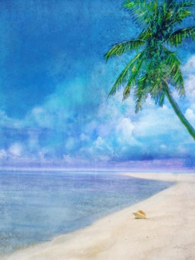 Palm Beach and Shell-Ken Roko-Art Print