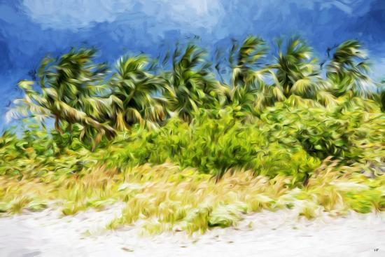 Palm Beach - In the Style of Oil Painting-Philippe Hugonnard-Giclee Print