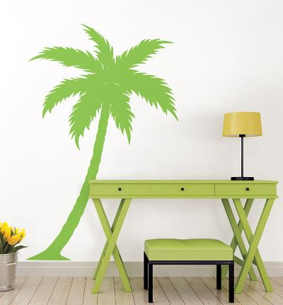 Palm Blvd. Giant Wall Art Kit--Wall Decal