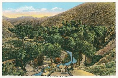 Palm Canyon, California--Art Print