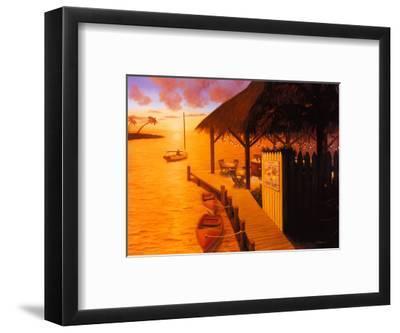 Palm Cove-David Marrocco-Framed Art Print
