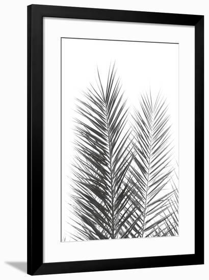 Palm Crisp Noir-Irene Suchocki-Framed Giclee Print