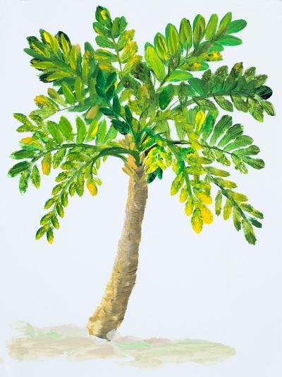 Palm Days IV-Julie DeRice-Art Print