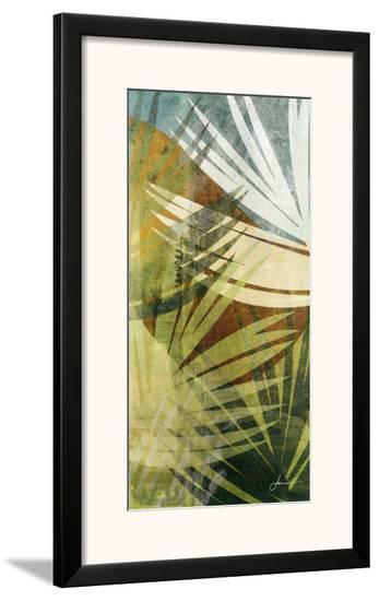 Palm Frond II-James Burghardt-Framed Art Print