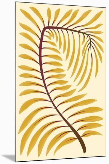 Palm Frond II--Mounted Art Print