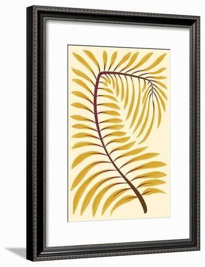 Palm Frond II--Framed Art Print
