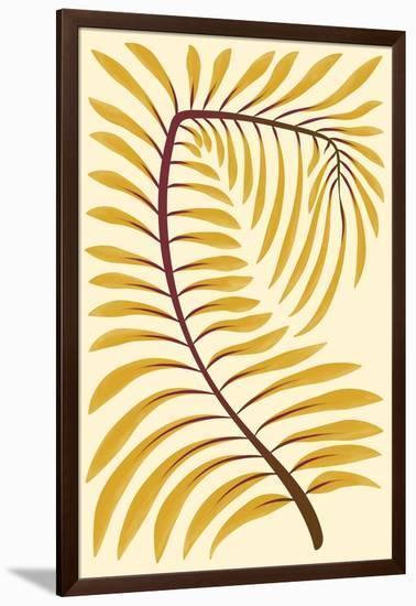Palm Frond II--Framed Art Print