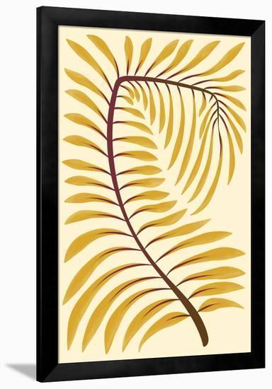 Palm Frond II--Framed Premium Giclee Print