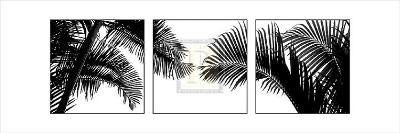 Palm Frond Triptych II-Bill Philip-Art Print