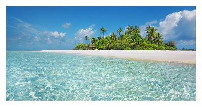 Palm island, Maldives-Frank Krahmer-Giclee Print