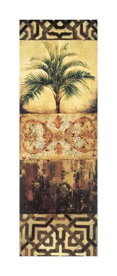 Palm Manuscripts I-Elizabeth Jardine-Giclee Print