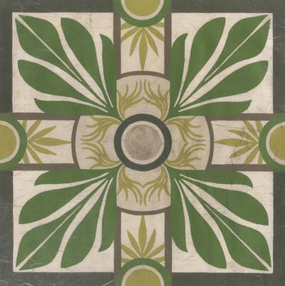 Palm Motif I-Erica J^ Vess-Giclee Print