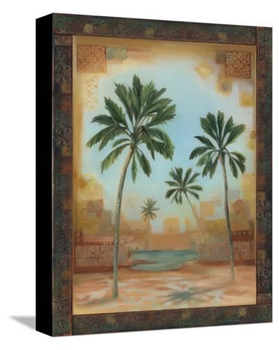 Palm Oasis I-Louise Montillio-Stretched Canvas Print