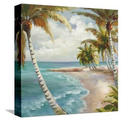 Palm Paradise-Marc Lucien-Stretched Canvas Print