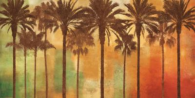 Palm Paradise-John Seba-Mount Art Set
