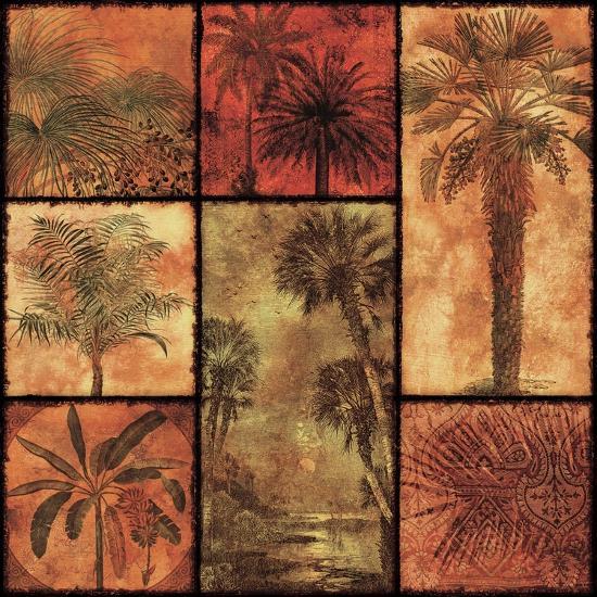 Palm Patchwork I--Art Print