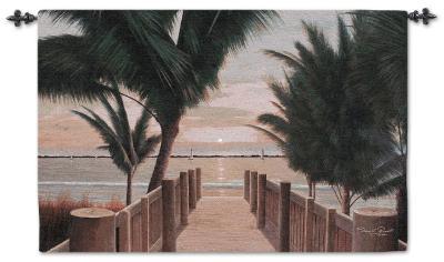 Palm Promenade--Wall Tapestry