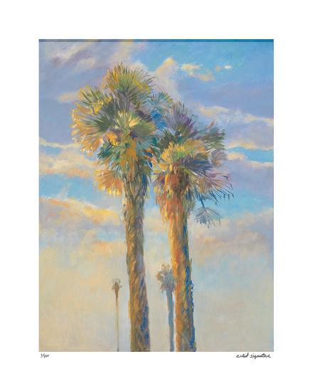 Palm Springs Sunset I-David Harris-Giclee Print